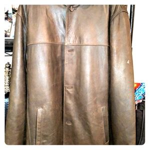 5xl lambskin leather jacket
